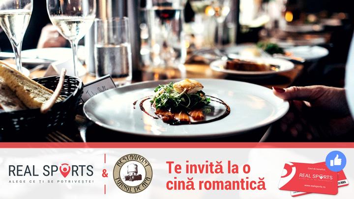 Câștigă o cină romantică la Restaurant Turnul de Apă!