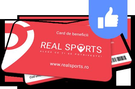 Carduri de beneficii Real Sports